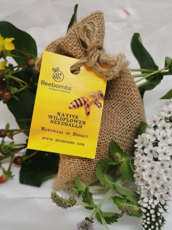 Bee bomb - Native Wildflower seed balls